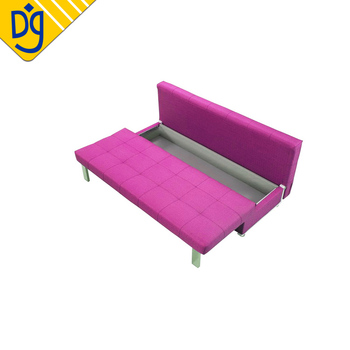 Surprising Bargain Armless Knockdown Convertible Sofa Bed With Storage Drawer Buy Armless Sofa Bed Sofa Bed With Drawer Knockdown Sofa Bed Product On Machost Co Dining Chair Design Ideas Machostcouk