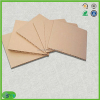 Brown honeycomb paper board,paper mount board for containers