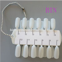 BIN High quality nail polish chart pipe fitting take off chart