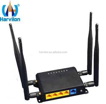 Harvilon Reliable 4g Lte Router 192 168 1 1 5 Port Wireless Router 4g  Mobile Router Wifi 12v With Sim Card Slot - Buy Best 4g Lte Wifi  Router,Best 4g