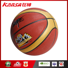 ZJ-2006 PVC Leather Indoor Using Classical Model For Practicing Personalized Basketball