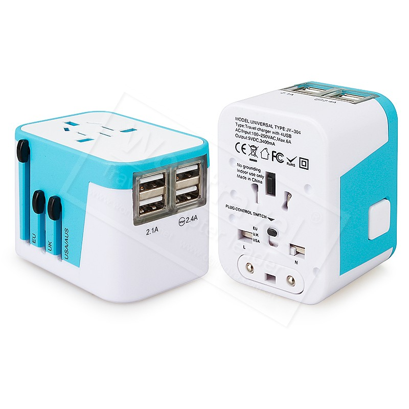JY-304 Hot selling new design eu plug travel charger mobile accessories USB soket plug