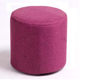 round pouf bench,outdoor or indoor puff ottoman stool for sale