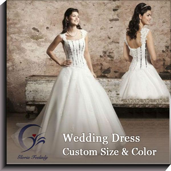 grace satén sirena encaje ranglan vestido de novia-vestidos de boda