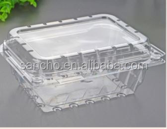 recycle disposable plastic lettuce crisper clamshell packaging