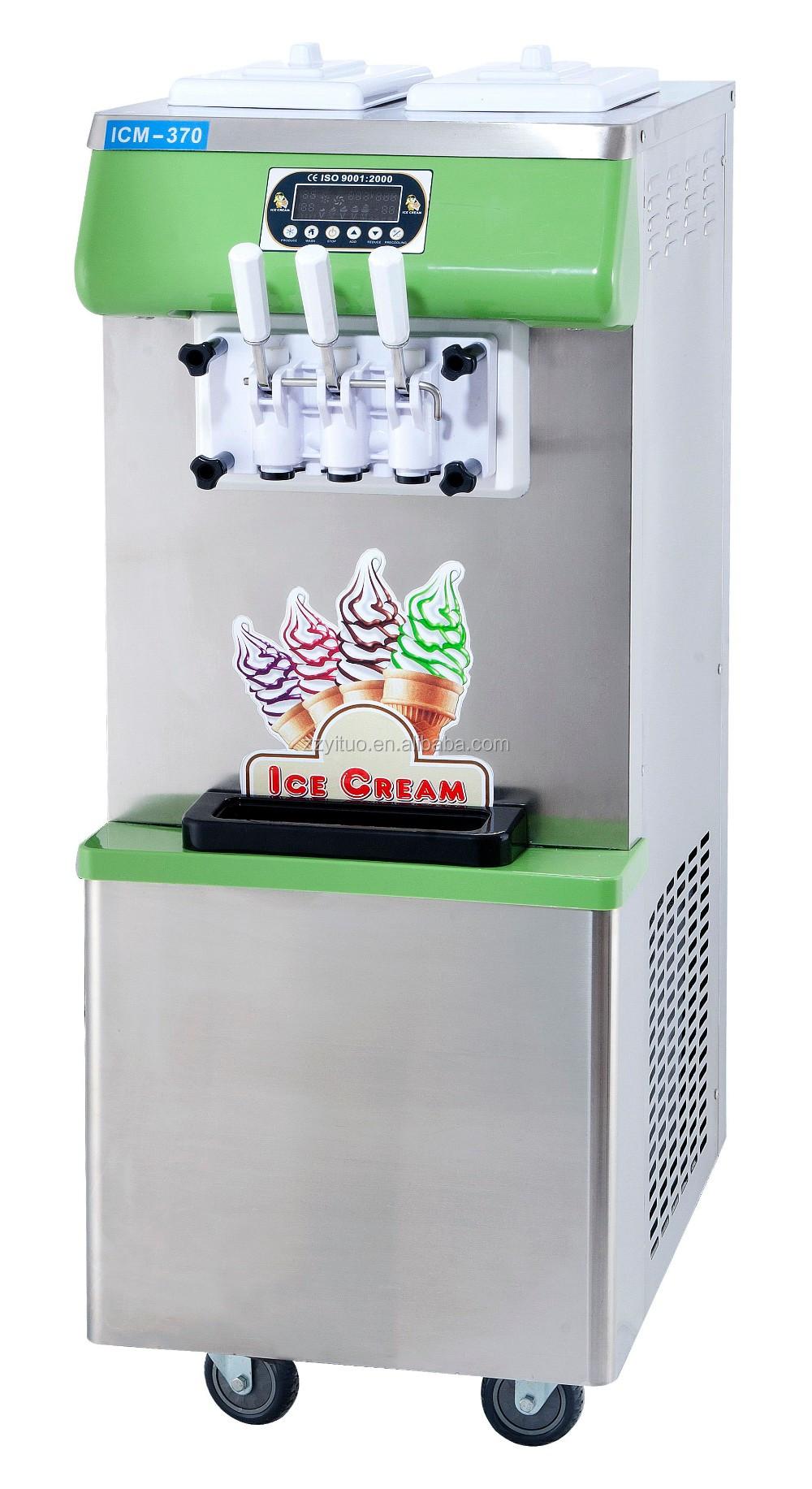 R22 Refrigerant For Sale >> Crème glacée Molle Chocolat Utilisé Molle Machine À Crème ...