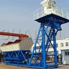 Mobile aggregate mixing plant YHZS25, 25m3/h concrete batching plant