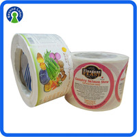 Customized Printing Label Waterproof Vinyl Sticker Paper, Custom Vinyl Logo Stickers