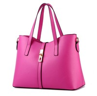 wholesale fashion big bag ladies handbag 2016 China manufactures