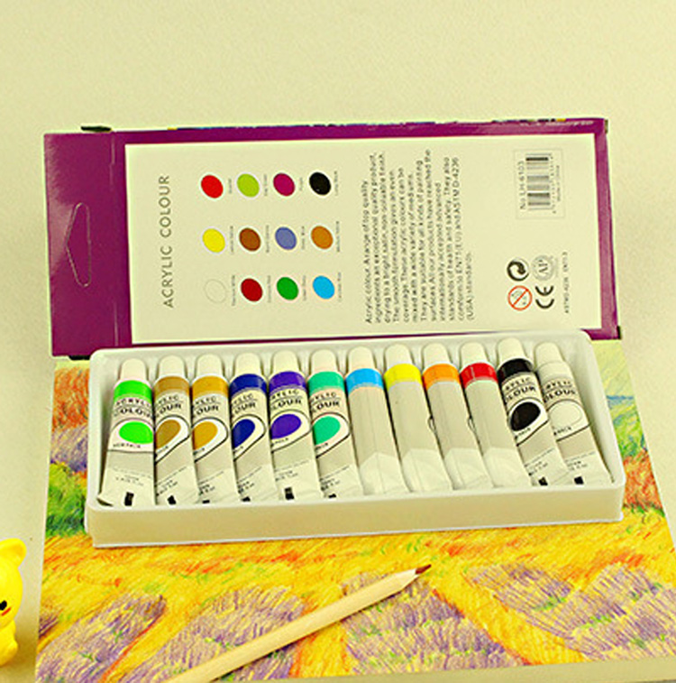 Bona DIY colorful set oil paint new 2016