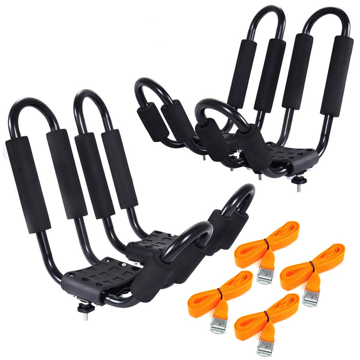 Reasonable J Rack Kayak Carrier Canoe Boat Roof Top Mount Car Suv Van W/free Cell Phone Bag Racks