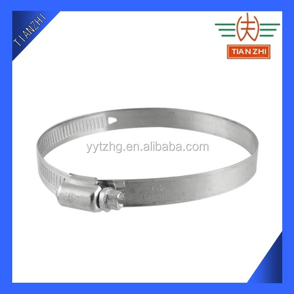 Perforated Band Stainless Steel Adjustable Tube Clamp