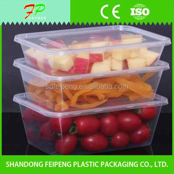 Manufacturer support useful blister plastic food container/plastic food container