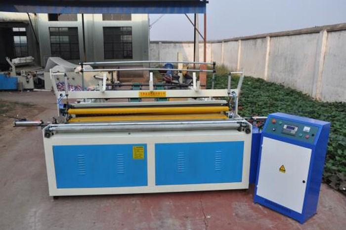 paper roll manufacturing machine