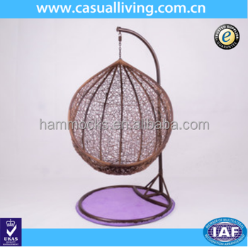 Outdoor Wicker Swing Chair Hanging Egg Chair Hammock With Cushion Buy Outdoor Egg Chair Cheap Egg Chairs For Sale Egg Shaped Wicker Chairs Product On Alibaba Com