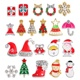 2018 Latest christmas nail decoration 3d nail art 21 designs nail jewelry decoration