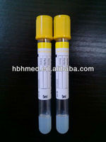 Gel & Clot Activator Tube/blood Collection Tube