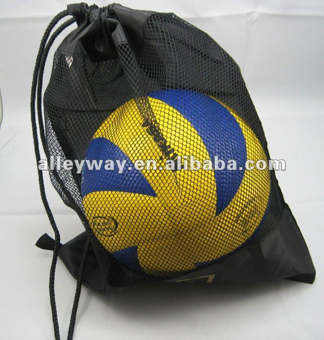nylon net bag, mesh bag, drawstring net bag
