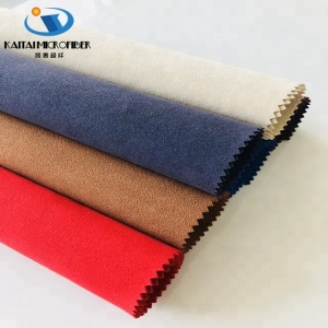 waterproof and good abrasion resistant synthetic pu micro fiber suede fabric furniture leather