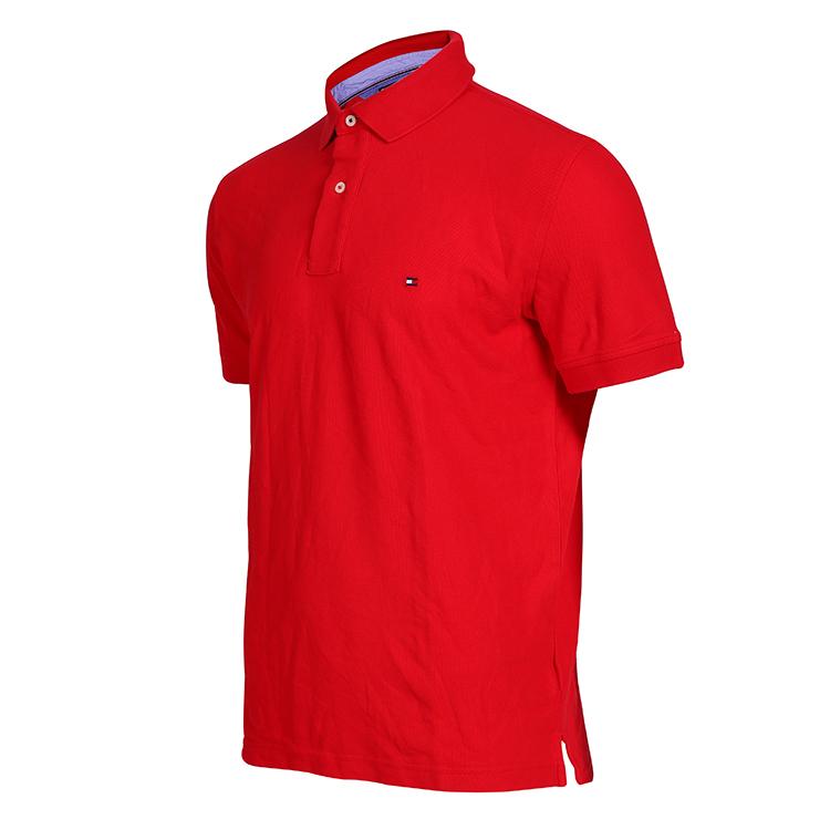 Personnalisez le Polo pour hommes en tissu magique de marque de luxe de haute qualité