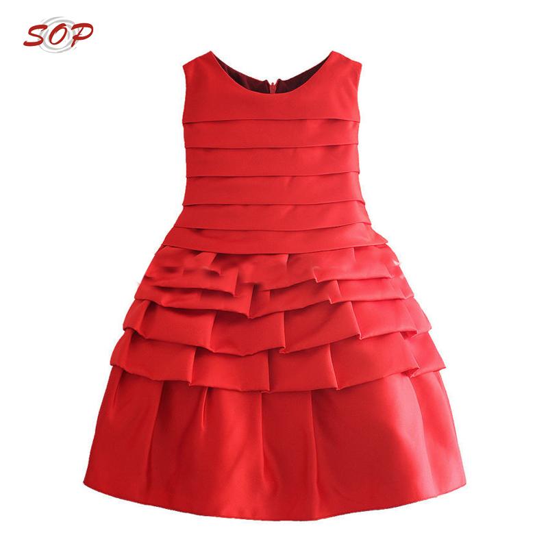 b4a9b55b6 Christmas baby girl party dresses children frocks designs girls ruffle dress