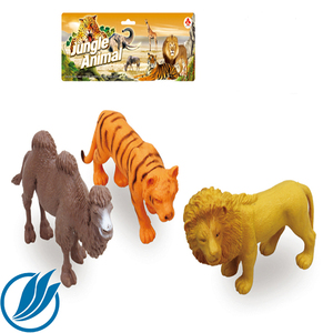 PVC wildlife animal small plastic lion toys for sale
