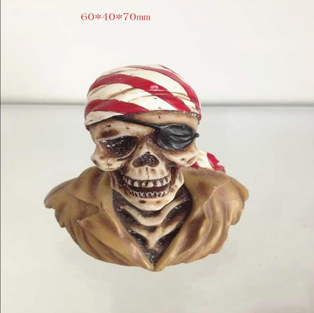 W&P Sculptured horror Halloween Decorations Halloween Props resin ornaments