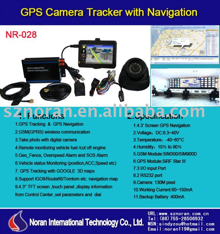 GPS Camera Tracker & Navigation