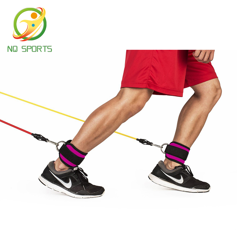 2021 Hot Sale D-ring Adjustable Ankle Straps Wrist Band for Workout Fitness fitness Accessories