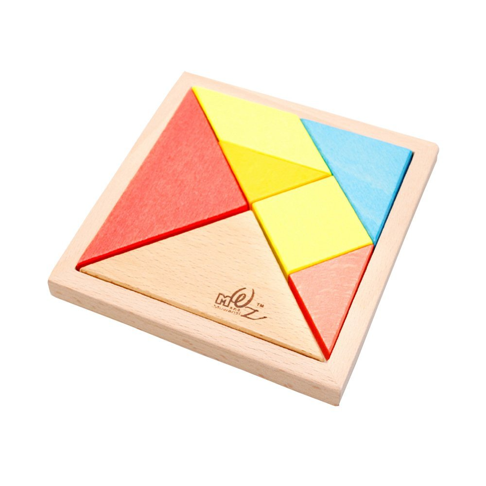 Buy Babies And Young Children Tangram Puzzles Wooden