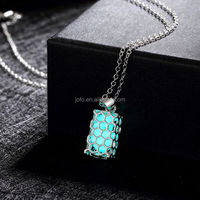 All Match Geometry Luminous Necklace For Boy And Girl Friend LKNJ0055