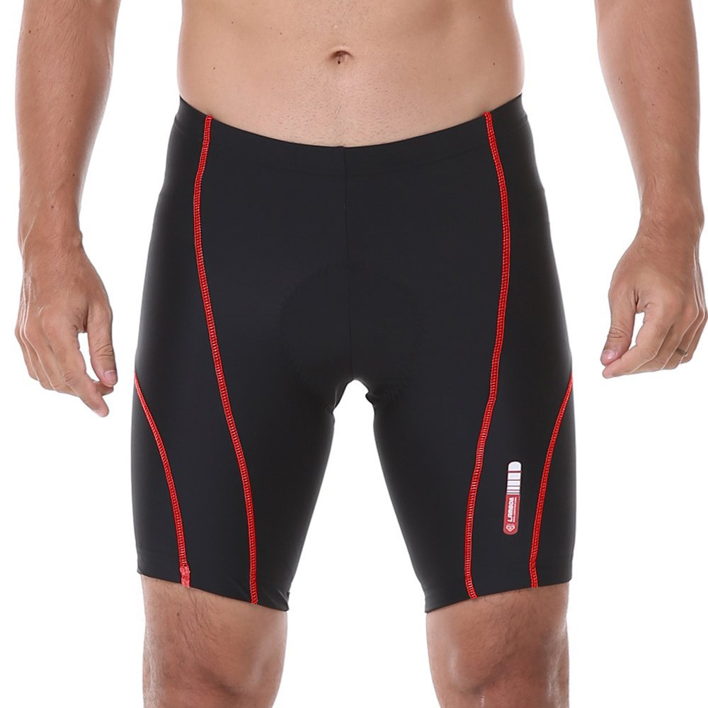 4ucycling Lambda Men's Professional 3D Gel Padded Compression Shorts