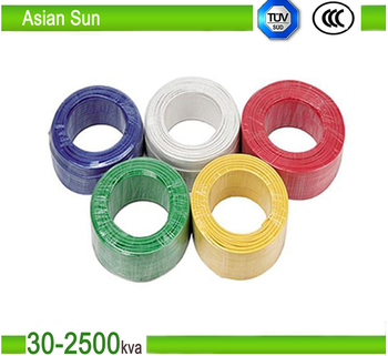 Common Building Wire House PVC Electrical Cable Colors