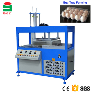 PET / PVC Hatching Plastic Quail Egg Tray Making Forming Machine For Sale