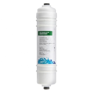 10 Inch inline UDF Activated Carbon water filter cartridge