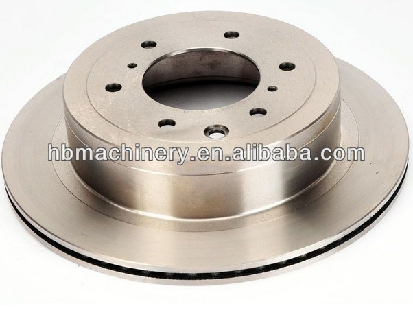 Brake rotor used for Mitsubishi car in Dubai