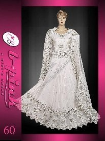 Pakistani Bridal Dresses White Raw Silk Lengha Buy Pakistani