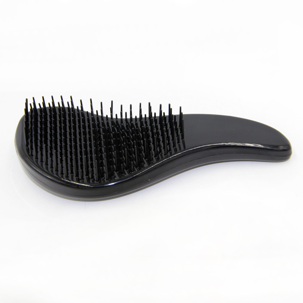 New design portable soft hair brush Black magic hair comb