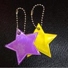 Star model Reflective pendant,Reflective keychain for visible safety dangled on bag,mobile phone,clothing