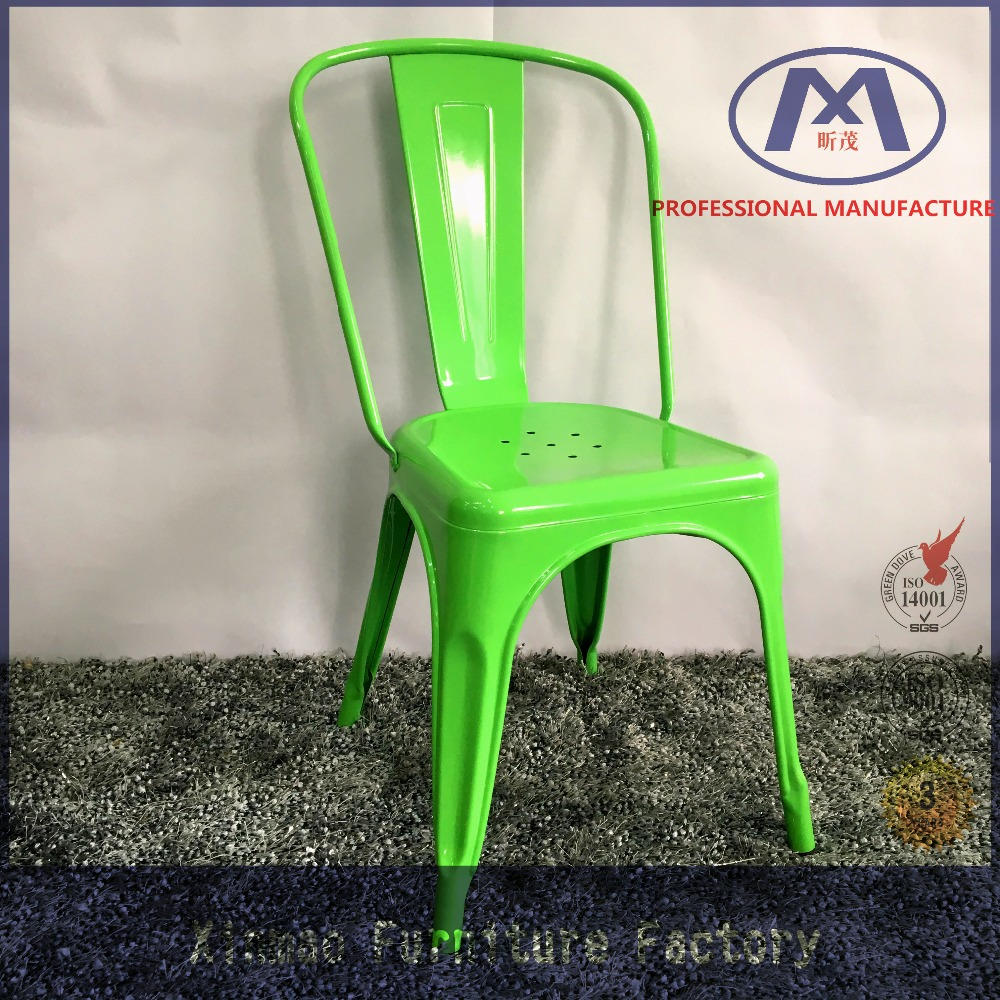 Popular antique furniture restaurant metal cafe chair wholesale