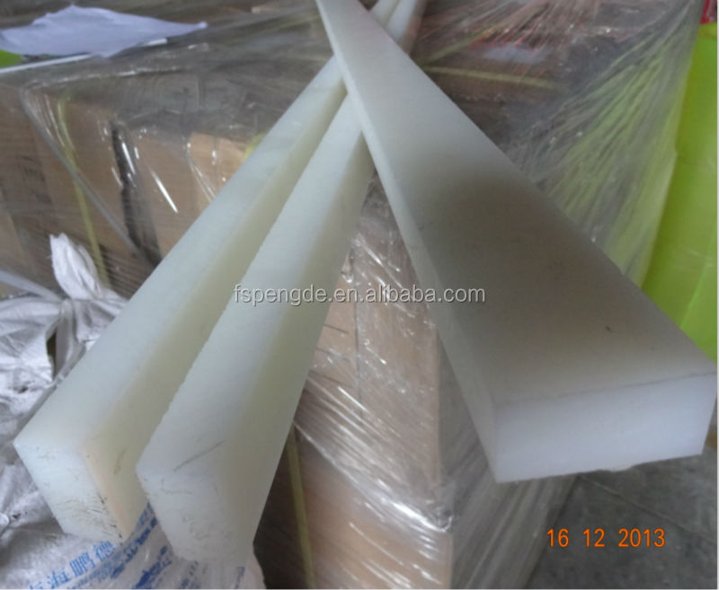Flat Plastic Rod Solid Plastic Strip