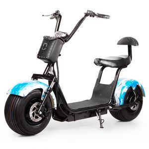 2018 Eu Chopper Citycoco Scooter 1000W 1500W Electric Scooter Fat Tire Mobility Scooter Adult Spare Parts Wholesale