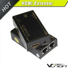 premium high quality promotional 50m rj45 to hdmi converter