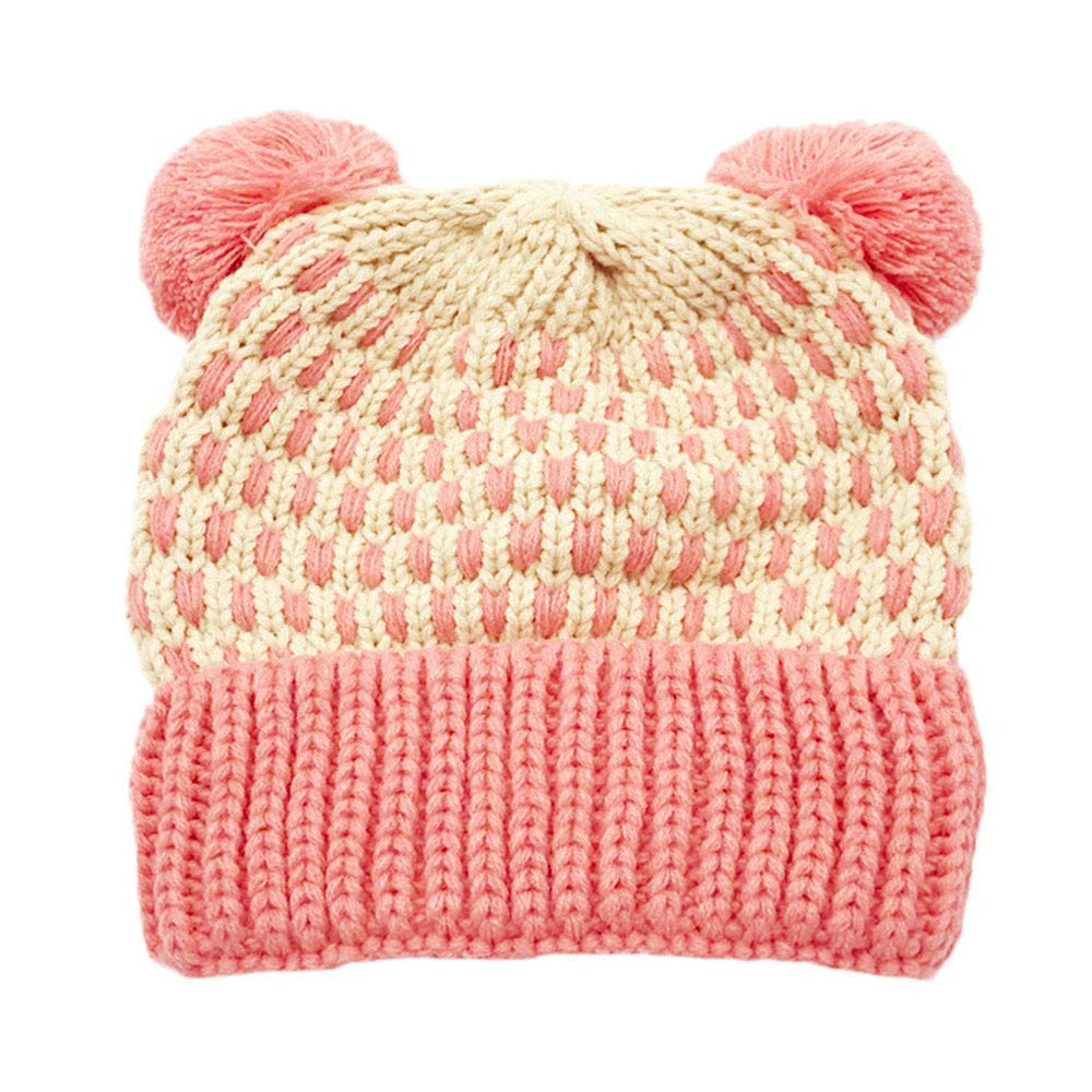 6bcf829dcc5 Get Quotations · Inkach Baby Beanie Hats Pom Poms