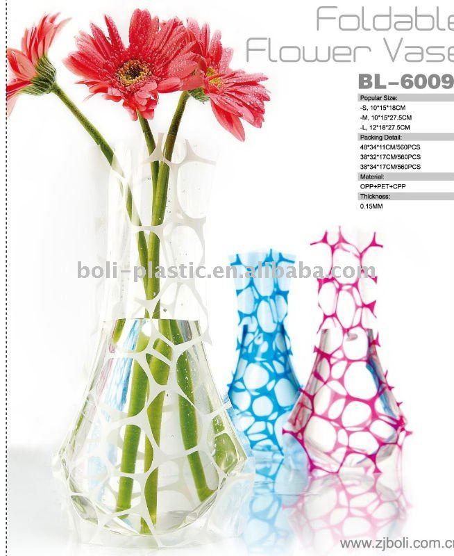 fleur vase vases en plastique id du produit 473350984. Black Bedroom Furniture Sets. Home Design Ideas