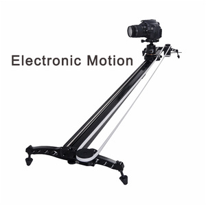 High Precision Camera Slider Video camcorder DV shooting Dolly slider 120cm Follow Focus Pan Motorized Electric Control Delay