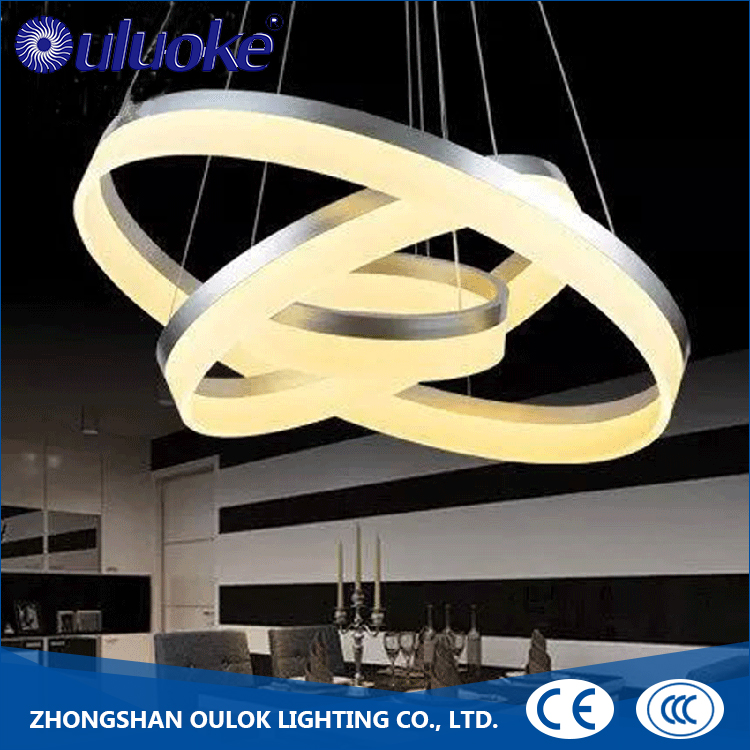 new modern linear pendant light large hotel chandelier
