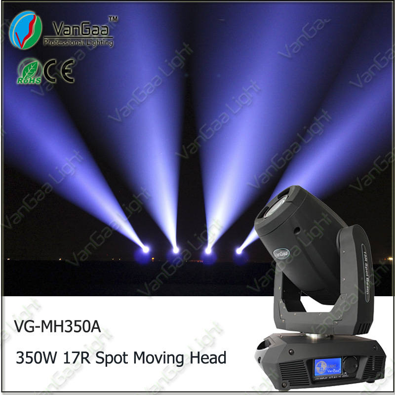 VANGAA VG-MH350A middle-end sharpy 17r 350w new crazes moving head