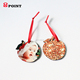 mdf apple shape christmas baubles for Christmas tree ornaments
