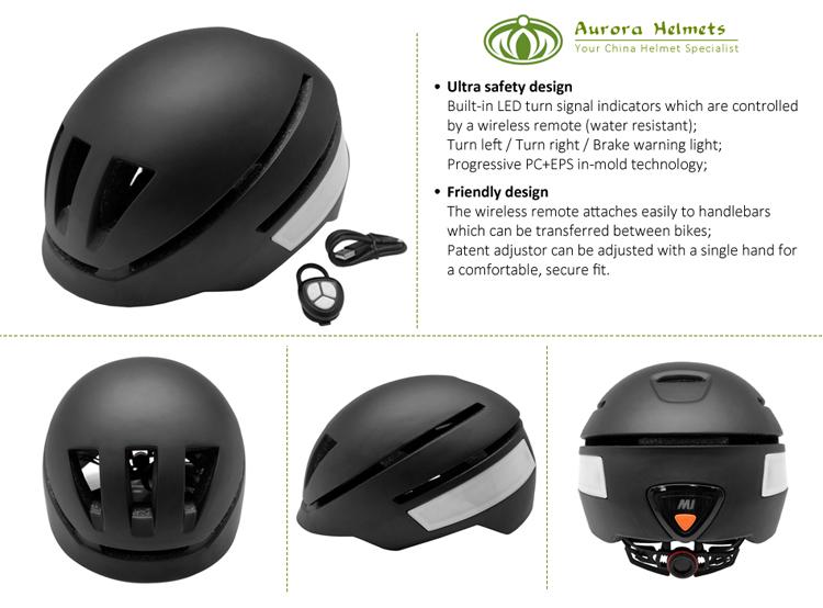 In-mold progressive smart LED bike helmet 3